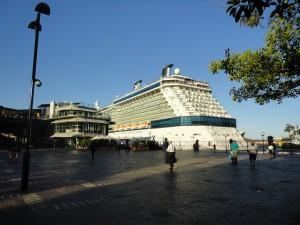 Корма океанского лайнера